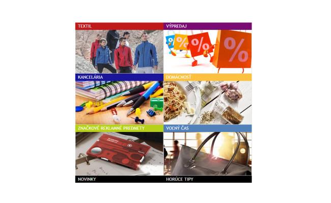 E-shop reklamných predmetov